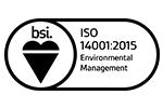 BSI ISO14001 logo