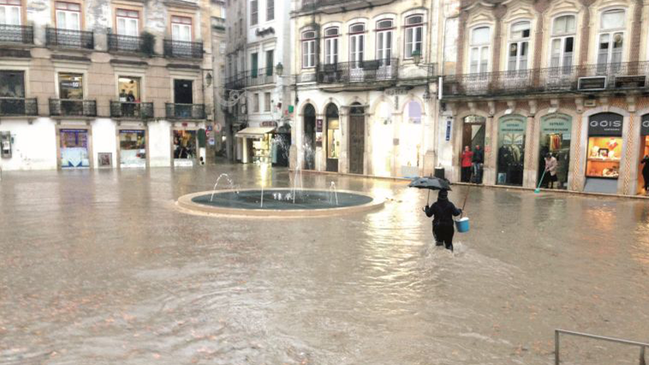 flooding in Coimbra