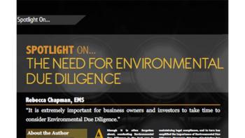 Spotlight on Environmental Due Diligence