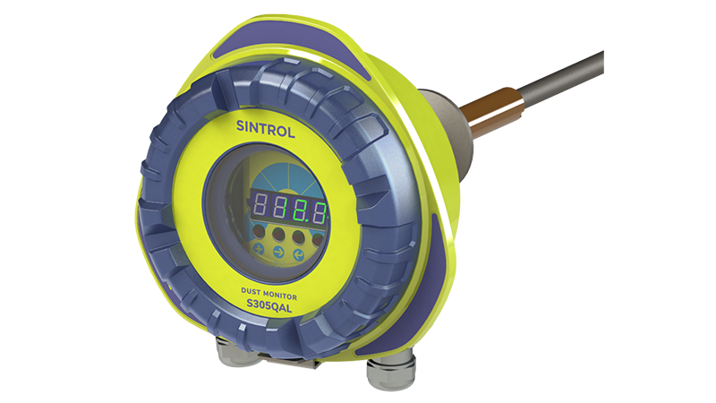 Sintrol Launch S305QAL CEM Certified Dust Monitor