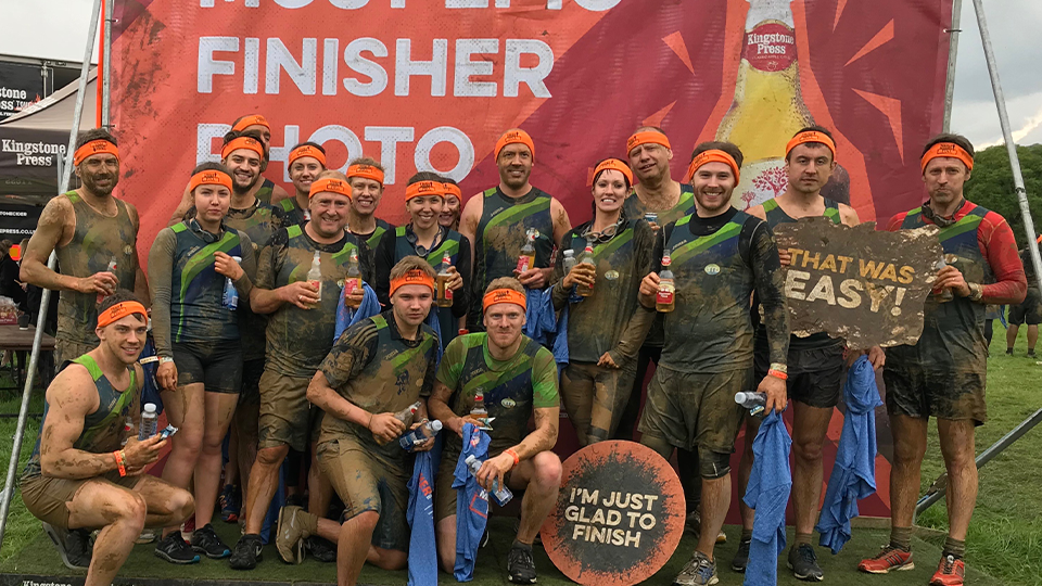 Team EMS finish Tough Mudder