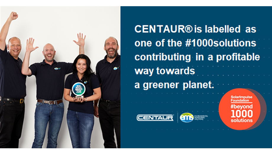 The Solar Impulse Foundation has reached 1000 Solutions, and CENTAUR® made the list!