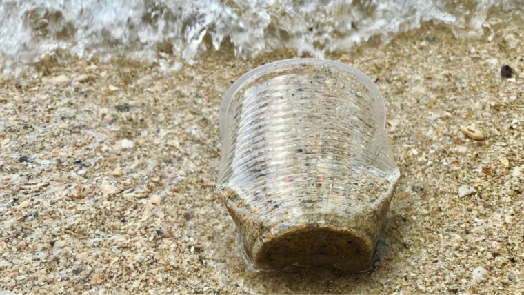How can microplastic pollution be dealt with?