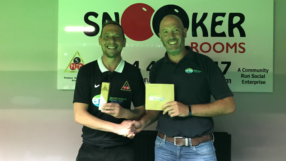 EMS-Sponsored Snooker Spectacular is Roaring Success