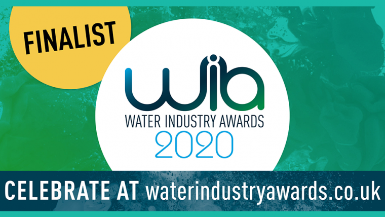 EMS Shortlisted for Two Awards at the Water Industry Awards 2020