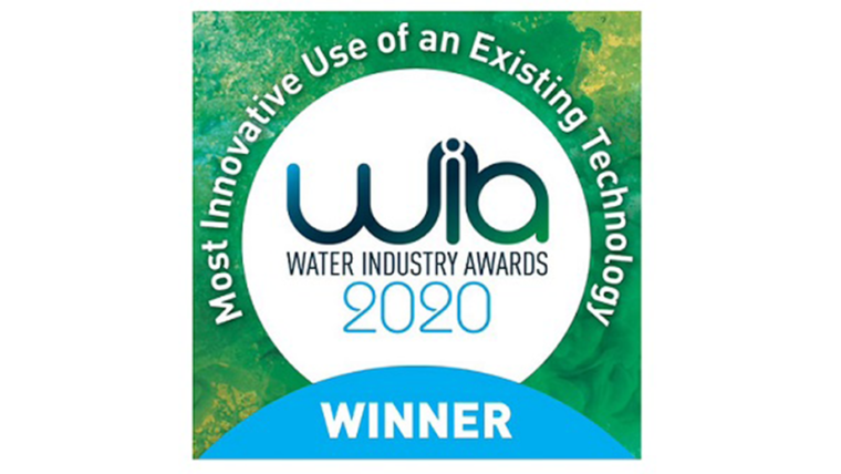 IRONMAN™ awarded 'Most Innovative use of an Existing Technology' at the Water Industry Awards 2020