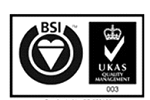 BSI UKAS Quality Management 003 logo